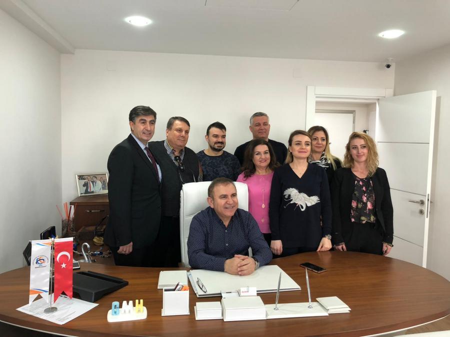 İzmir Bölge Müdürlüğü'ne Ziyaret