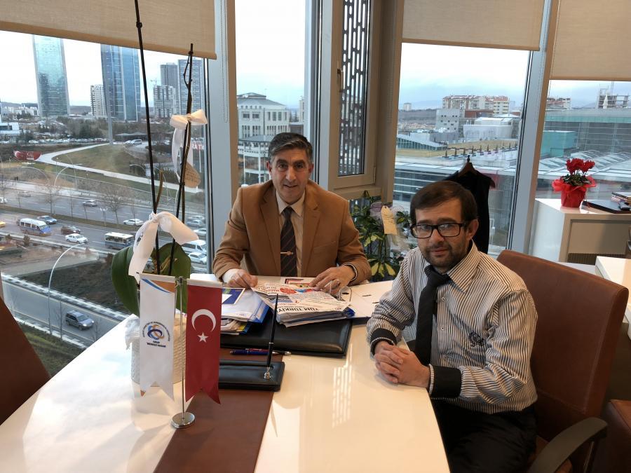 Malatya Acente Müdürümüz'ün Merkezimizi Ziyareti
